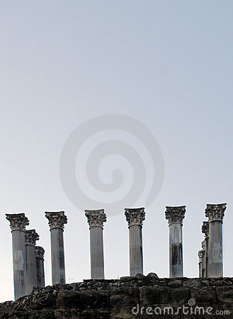 Free Roman Columns Stock Images - 22712034