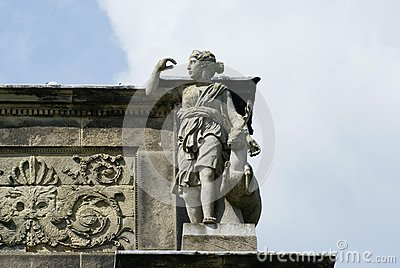 Roman Diana Goddess deity Stock Photo