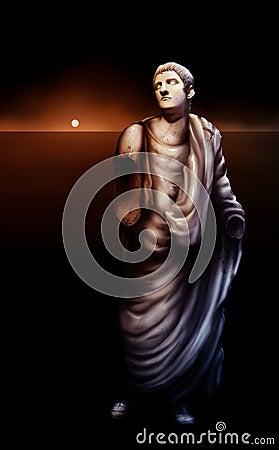 Roman Emperor Caligula Statue Artwork