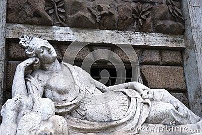 Roman female statue