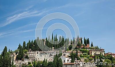 Roman Fort above Verona