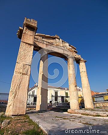 Roman forum gate
