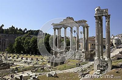 Roman Forum - Rome - Italy Editorial Stock Image