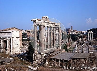 Roman Forum, Rome, Italy.