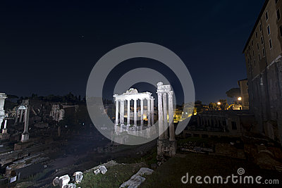 Roman Forum, rome, Temple of Vespasian