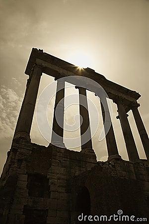 Roman Forum ruins, Rome, Italy.