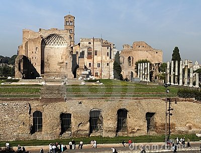 Roman Forum Temple of Venus