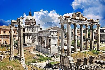 Roman forums
