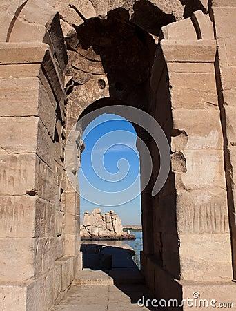 Through the Roman Gate