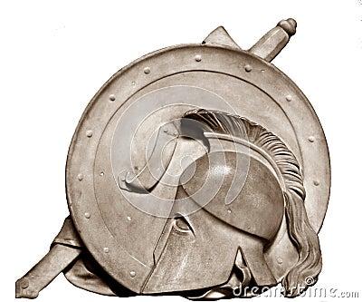 Roman Gladiator Helmet