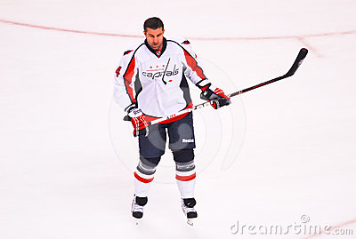 Roman Hamrlik Washington Capitals Editorial Stock Photo