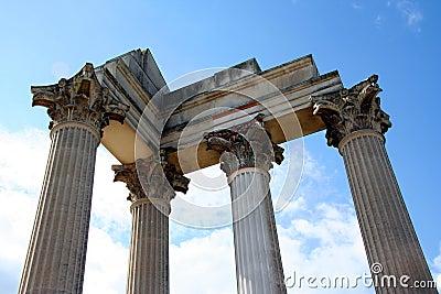 Roman harbor temple