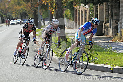 Roman Kreuziger in Bohemia tour 2012 cycling race Editorial Stock Photo