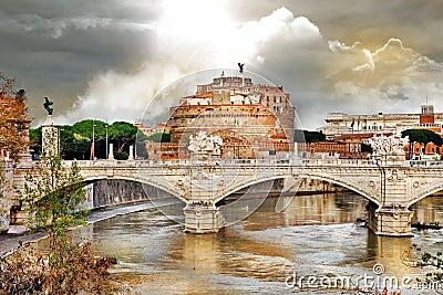 Roman landmarks, st Angelo