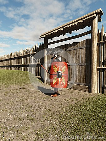 Roman Legionary Fort Guard