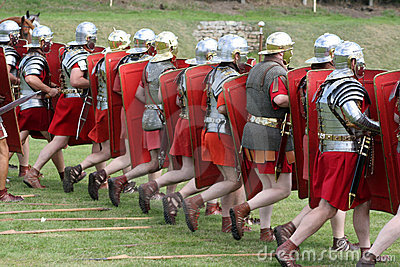 Roman Marching Army