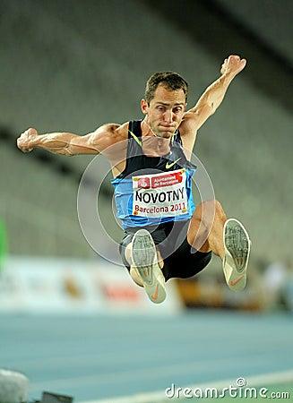 Roman Novotny of Czech Republic Editorial Stock Photo