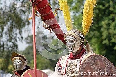 Roman parade riders