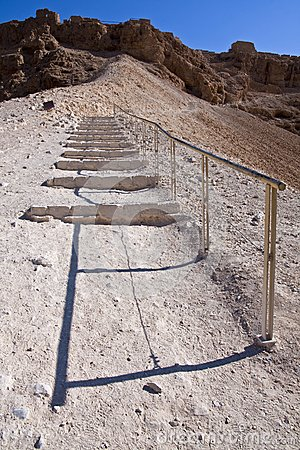 The roman ramp - Masada