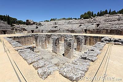 Roman ruin Italica. Spain