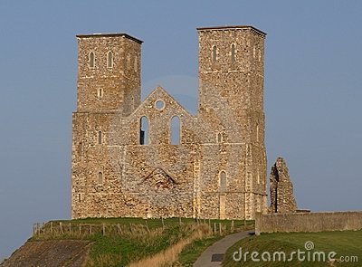 Roman Ruins of Reculver Church, Kent