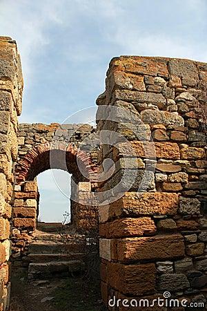 Roman ruins - gate