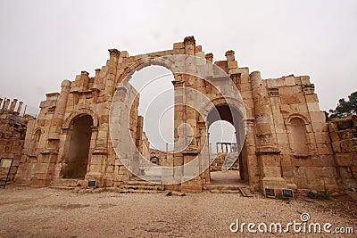 Roman Ruins in Jerash