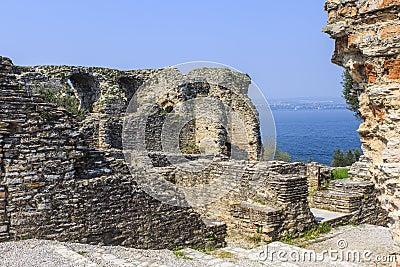 Roman ruins near Sirmione.
