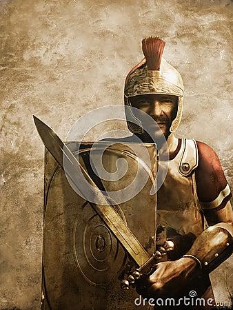Roman soldat