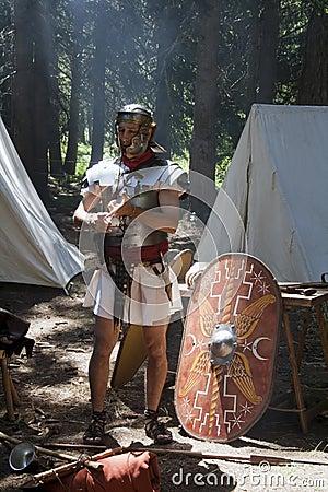 Roman soldier Editorial Image