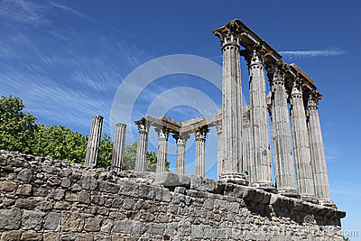 Roman Temple of Evora