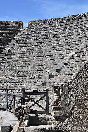 Roman Theater in pompeii