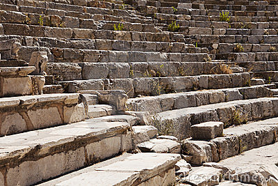Roman Theater Seats
