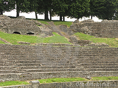 Roman theatre in Autun
