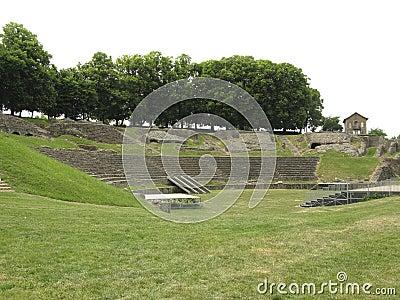 Roman theatre in France