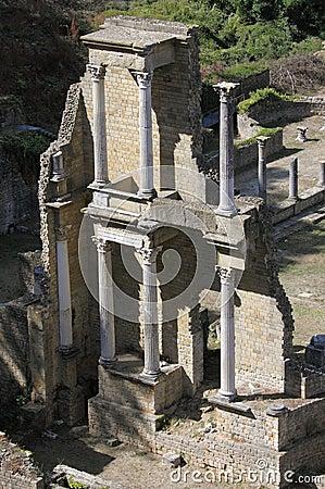 The Roman Theatre in Volterra