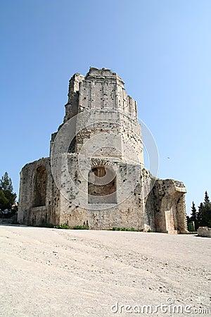 Free Roman Tower. Stock Image - 16154821