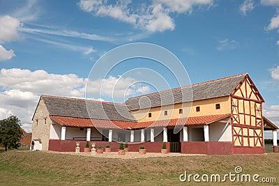 Roman Town House, England