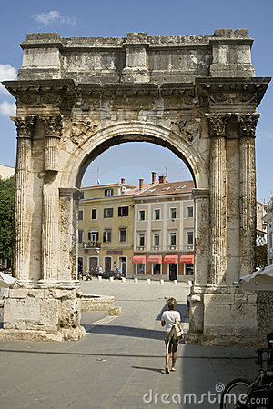 Free Roman Triumphal Arch Stock Image - 11054931
