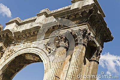 Roman triumphal arch