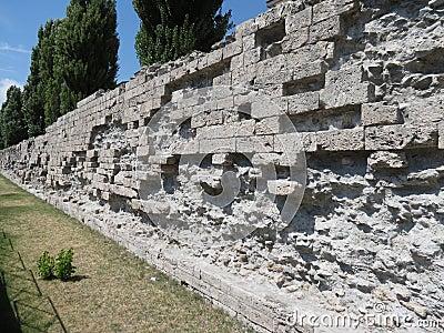 Roman walls