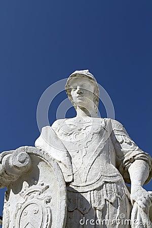 Roman Warrior Statue