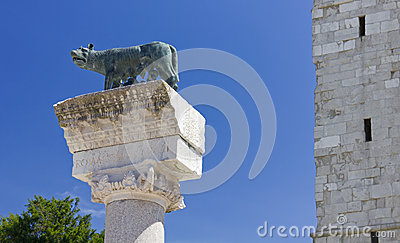 Roman She-Wolf at Aquileia