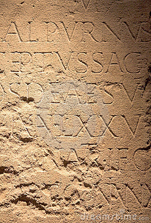 Roman writing background