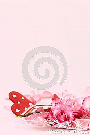 Romance background
