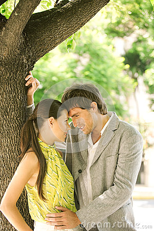 Free Romance Couple Stock Image - 30153331