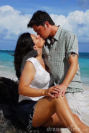 Romance: Couple Kissing
