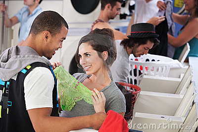 Romance In The Laundromat