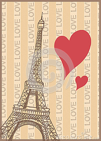 Romance in paris poster