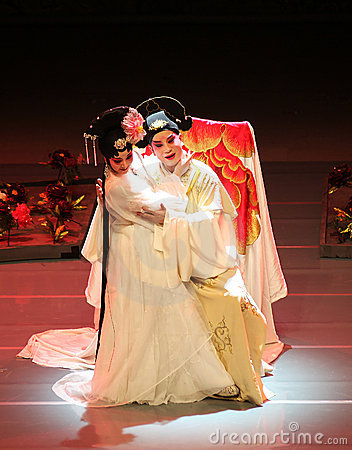 Romance of the Western Chamber  (Kunqu Opera) Editorial Photography